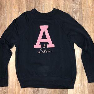 Abercrombie Oversized Varsity Sweater (SIZE 14)